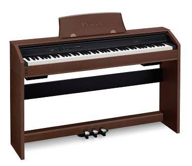 Цифровое фортепиано Casio PRIVIA PX-750BN коричневый - фото 1
