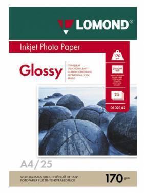 Бумага Lomond (102143) A4 / 170г / м2 / 25л. белый