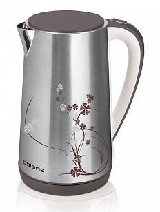 Чайник электрический Polaris PWK1503CA серебристый - фото 1