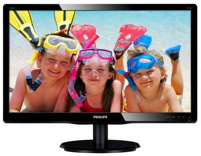 "Монитор 21.5"" Philips 226V4LSB/00 черный - фото 1"