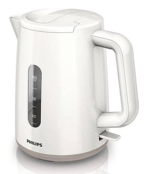 Чайник электрический Philips HD9300 белый - фото 1