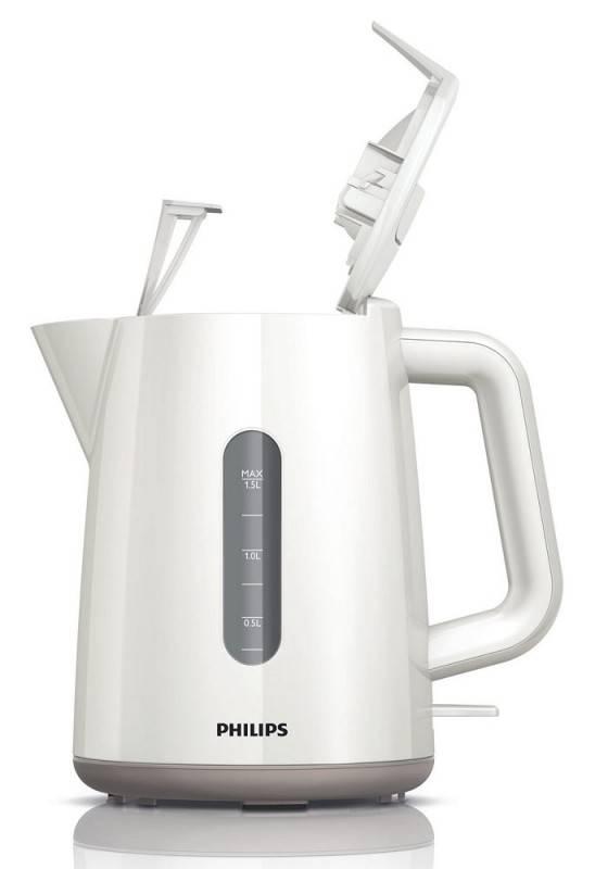 Чайник электрический Philips HD9300 белый (HD9300/00) - фото 2