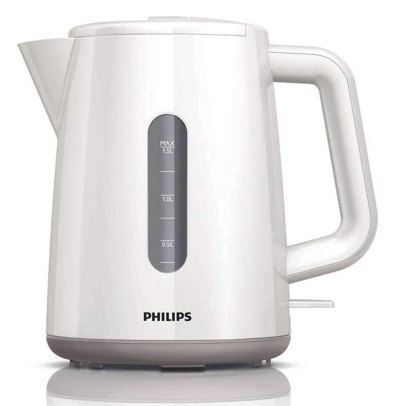 Чайник электрический Philips HD9300 белый - фото 3