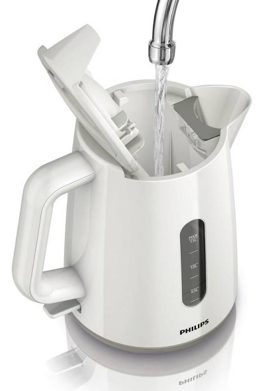 Чайник электрический Philips HD9300 белый (HD9300/00) - фото 4