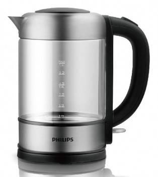 Чайник электрический Philips HD9342 серый / черный