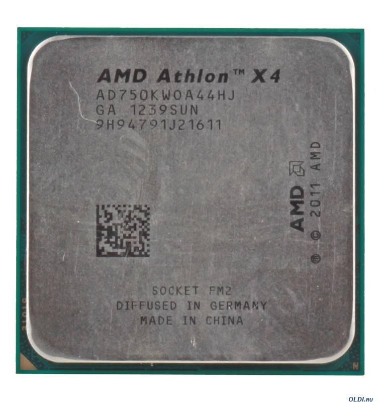 Процессор Socket-FM2 AMD Athlon X4 750K OEM - фото 1
