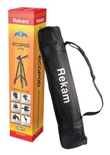 Штатив Rekam Ecopod E-125 напольный черный - фото 3