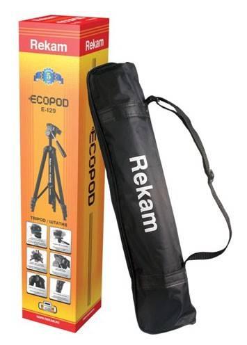 Штатив Rekam Ecopod E-129 напольный черный - фото 3