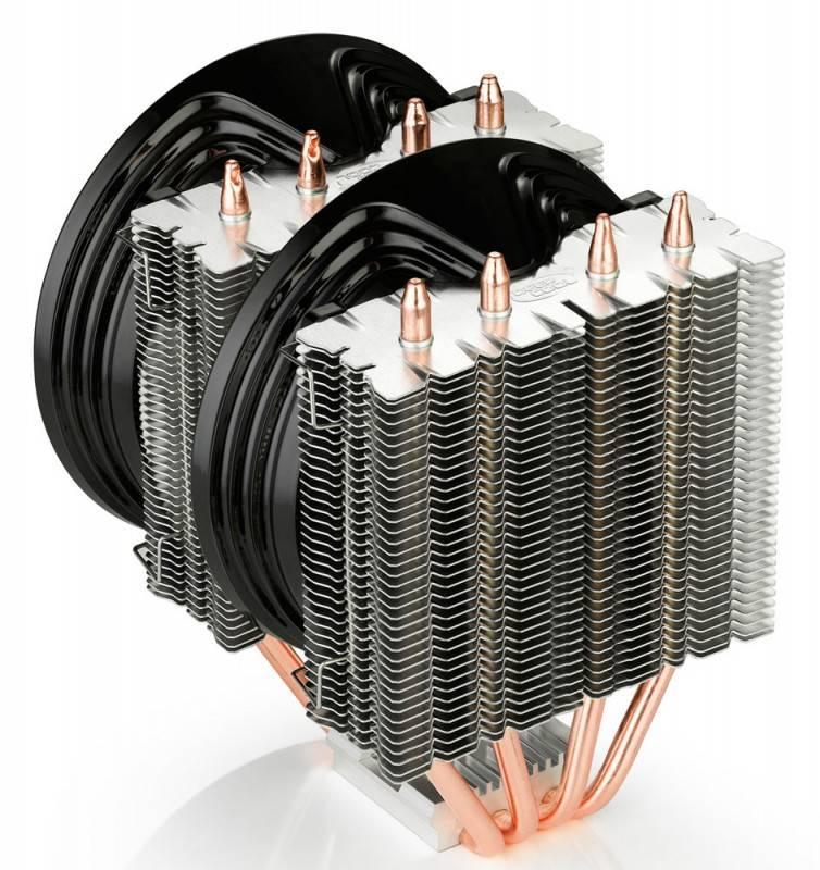 Устройство охлаждения(кулер) Deepcool FROSTWIN v2.0 Ret - фото 3