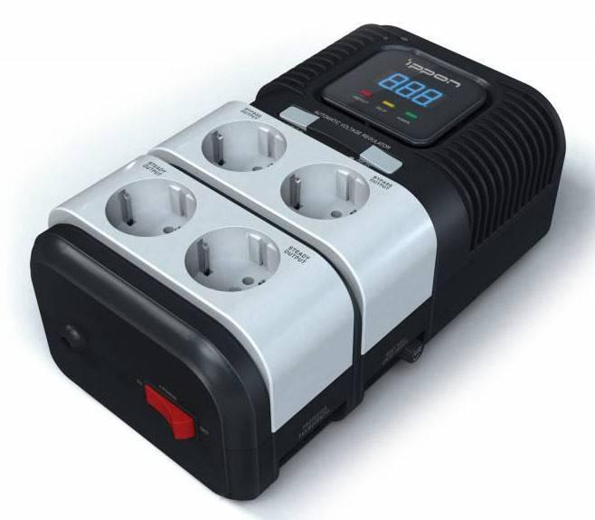 Стабилизатор напряжения Ippon STAB-2000 1000Вт - фото 2