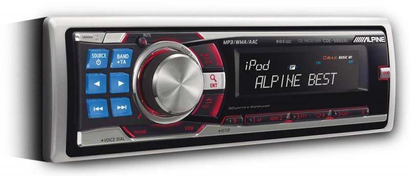 Автомагнитола Alpine CDE-9882Ri - фото 1
