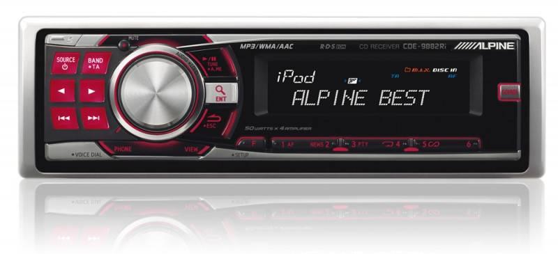 Автомагнитола Alpine CDE-9882Ri - фото 2