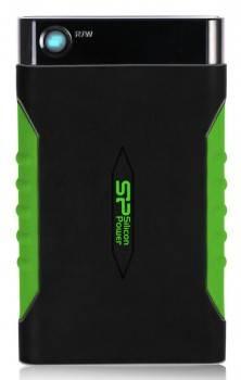 Внешний жесткий диск 1Tb Silicon Power A15 SP010TBPHDA15S3K Armor черный USB 3.0