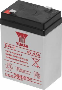 Батарея для ИБП Yuasa NP4-6 6В 4Ач