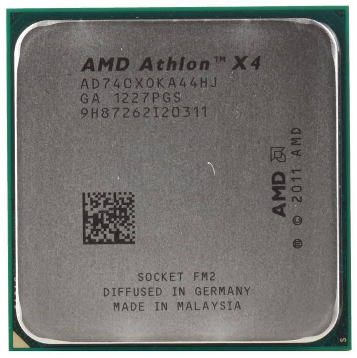 Процессор AMD Athlon X4 740 Socket-FM2 OEM - фото 1