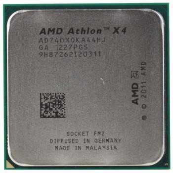 Процессор AMD Athlon X4 740 Socket-FM2 OEM (AD740XOKA44HJ)