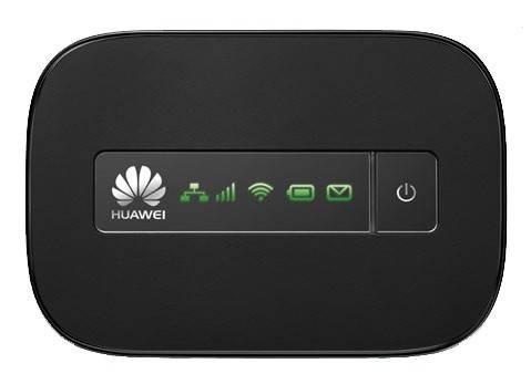 Модем 3G Huawei E5151 RJ-45/USB черный - фото 1