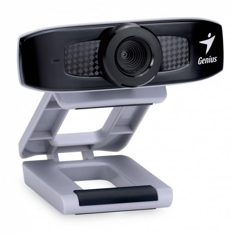 Камера Web Genius FaceCam 320 черный/серый - фото 1