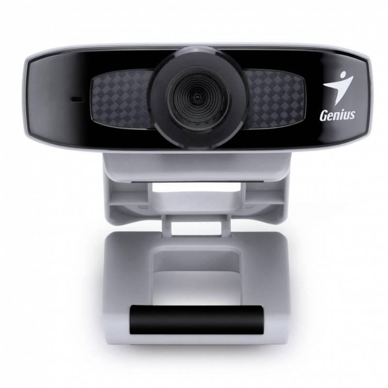 Камера Web Genius FaceCam 320 черный/серый - фото 2