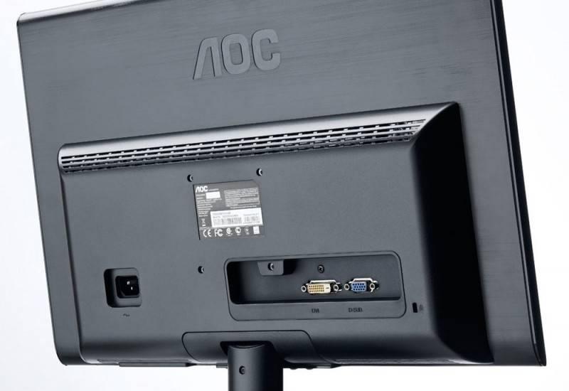"""Монитор 21.5"""" AOC E2250Swdak - фото 5"""