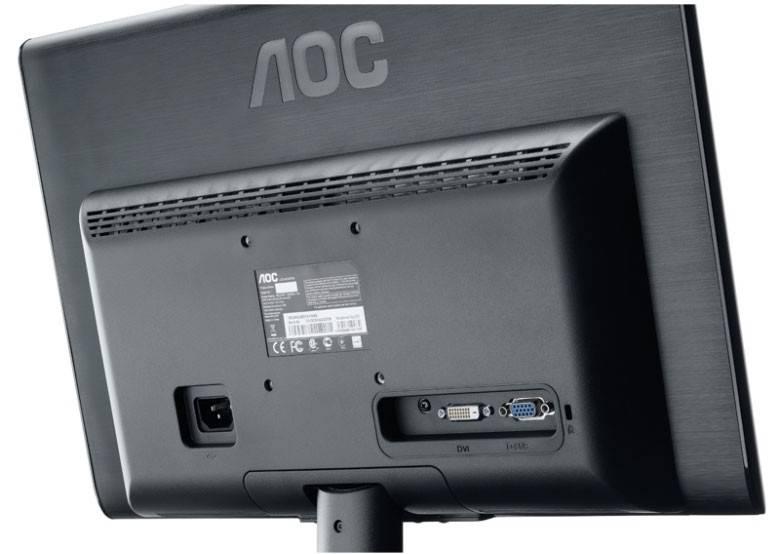 """Монитор 18.5"""" AOC E950SWDAK - фото 7"""