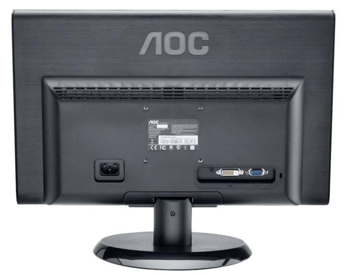 """Монитор 18.5"""" AOC E950SWDAK - фото 2"""