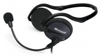 Наушники с микрофоном Microsoft LifeChat LX-2000 черный / серый