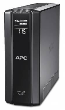 ИБП APC Back-UPS Pro BR1200G-RS черный