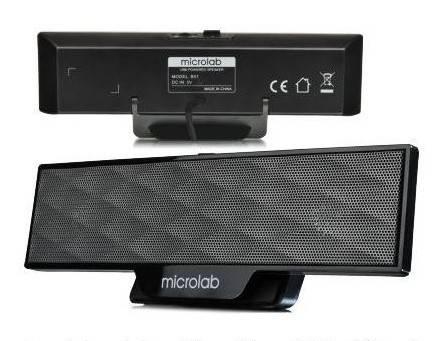 Колонки 2.0 Microlab B51 черный - фото 1