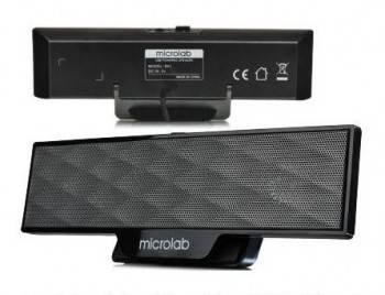 Акустическая система 2.0 Microlab B51 черный