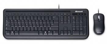 Комплект клавиатура+мышь Microsoft 400 for BUSINESS черный / черный