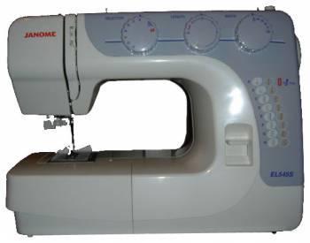 Швейная машина Janome EL545S белый (EL545 S)