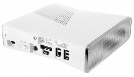 Игровая консоль Microsoft Xbox 360 RKB-00055 белый - фото 3