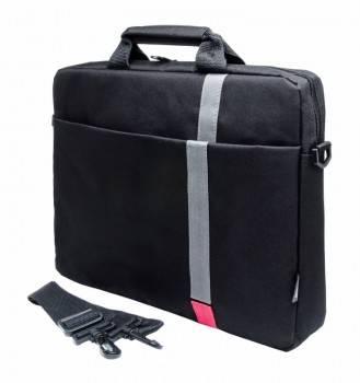 "Сумка для ноутбука 15.6"" PC Pet HQ Classic черный (PCP-1001RD)"