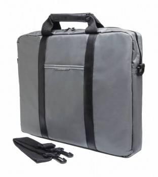 """Сумка для ноутбука 15.6"""" PC Pet PCP-1003GR серый/черный"""