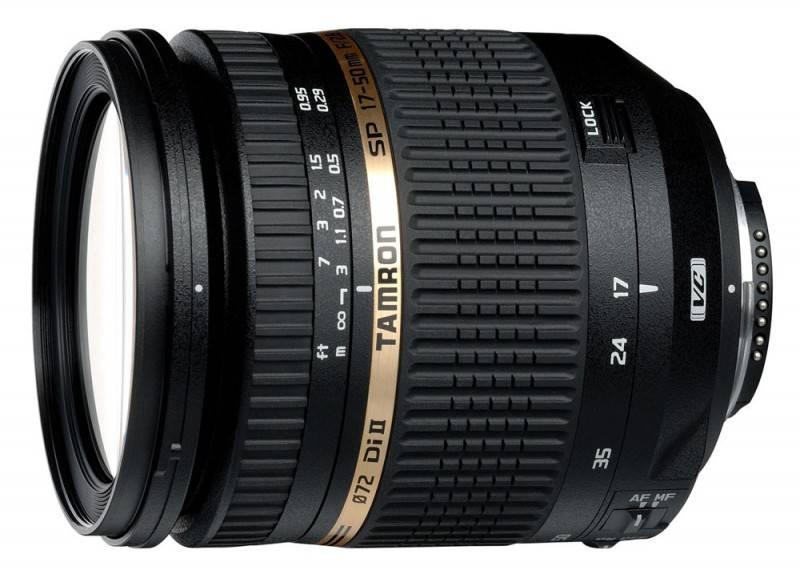 Объектив Tamron SP AF 17-50mm F/2,8 XR Di II VC LD Aspherical (IF) 17-50mm f/2.8 - фото 1