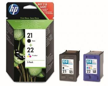 Картридж HP 21+22 многоцветный/черный (sd367ae)