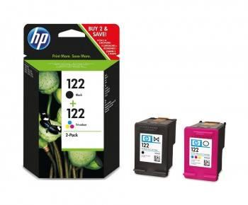 Картридж струйный HP 122 CR340HE черный / трехцветный