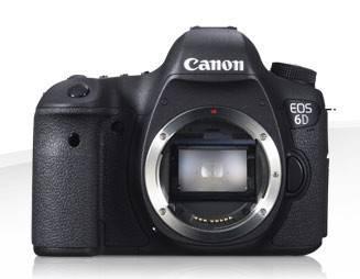 Фотоаппарат Canon EOS 6D черный, Body