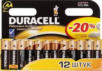 Батарея AA Duracell Turbo MAX LR6-12BL (12шт)