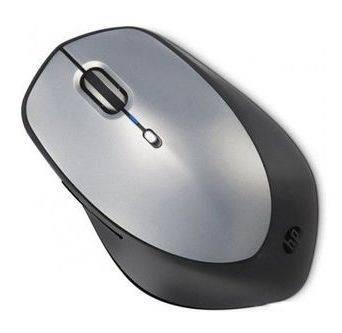 Мышь HP H2W15AA черный / серебристый