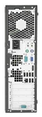 Системный блок HP Elite 8300 SFF черный - фото 4