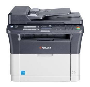 МФУ лазерный Kyocera FS-1025MFP, черно-белый, максимальный формат A4, скорость печати А4 монохромная до 25стр/мин, печать Duplex (1102M63RU0/1102M63RUV)