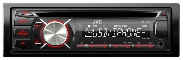 Автомагнитола JVC KD-R541EY - фото 1