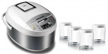 Мультиварка Redmond RMC-M4500 белый/серебристый