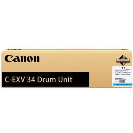 Фотобарабан (Drum) Canon C-EXV34 C цветной - фото 1