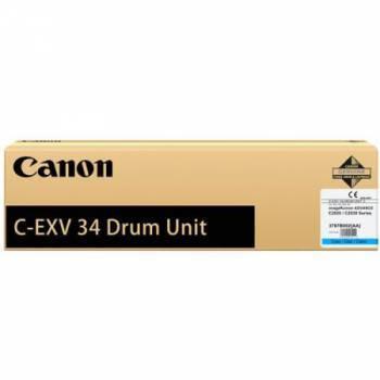 Блок фотобарабана Canon C-EXV34 C цветной (3787B003AA 000)