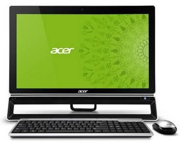 """Моноблок 23"""" Acer Aspire ZS600t черный - фото 1"""