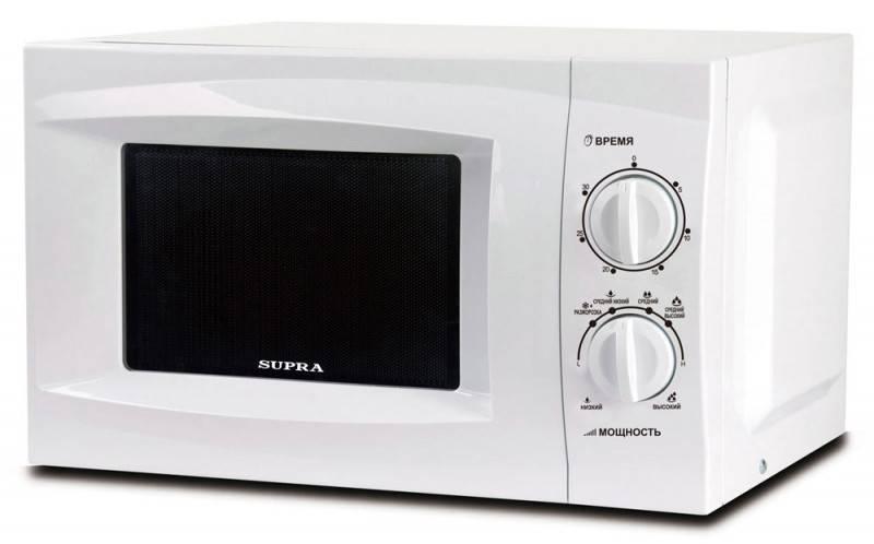 СВЧ-печь Supra MWS-1801MW белый - фото 1