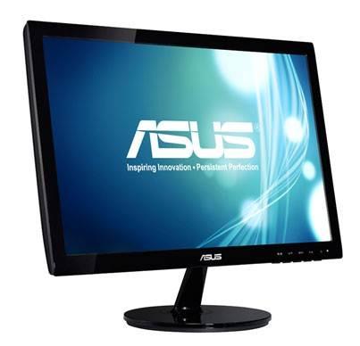 """Монитор 18.5"""" Asus VS197DE черный (90LMF1301T02201C-) - фото 3"""